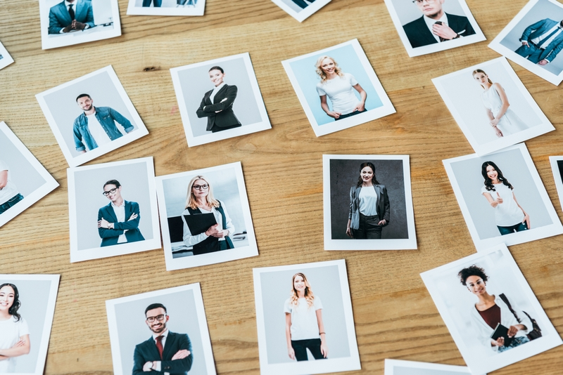 portraits d'employes